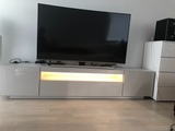 Tv taso led valolla