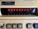Vintage Canon Canola Calculator L 8