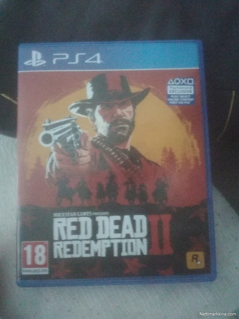 For sale Red Dead Redemption 2 PS4, Tampere, Pirkanmaa