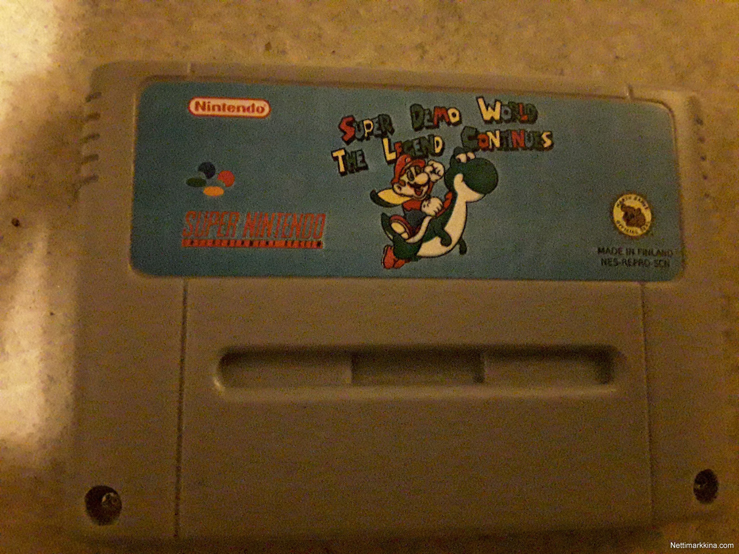 For sale super mario world the Legend contin, Not priced