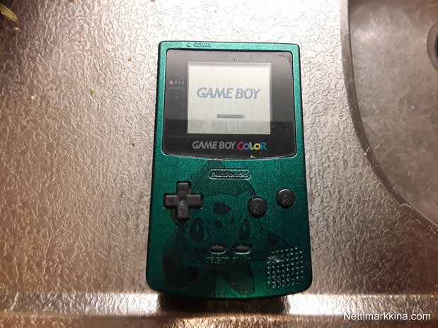 For sale gameboy color bulbasaur kuorilla, Not priced