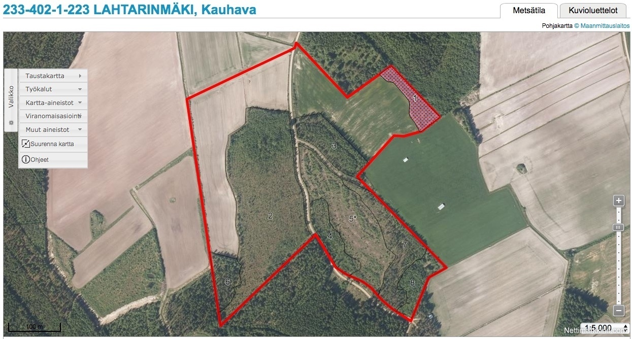 For Sale 168000 M Peltoa Ja Metsaa Kauhava Not Priced Kauhava