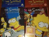 Simpsonit dvd boksit