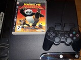 Ps3 Slim, Move Control.,ohjain&peli